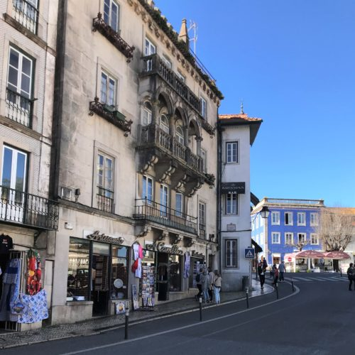 A Writer's Moment in Sintra, guest post by Sandy Kenyon